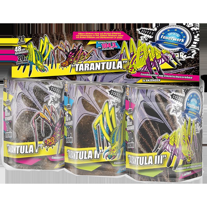 Tarantula ( 3 CAKES)