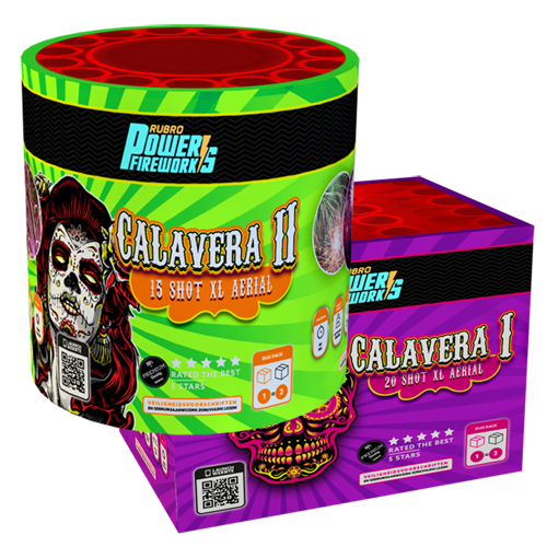 Calavera 1 en Calavera 2