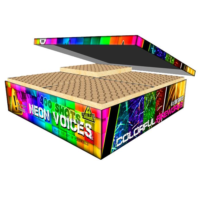 400 shots cake box