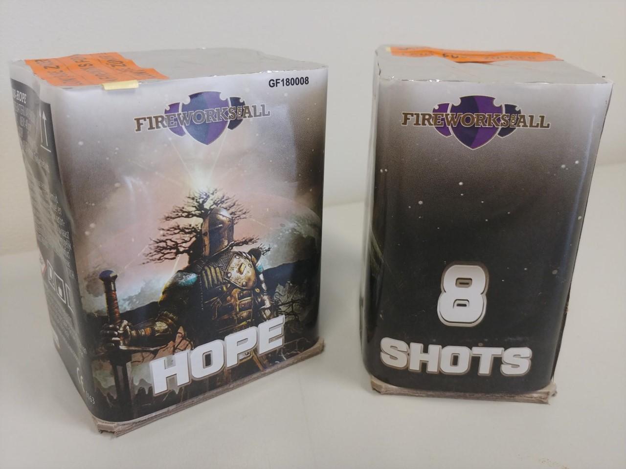 hope twee 8 shots siercakes