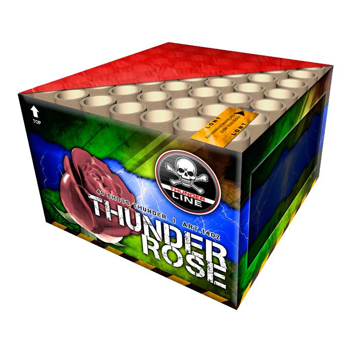 Thunder Rose knalcake