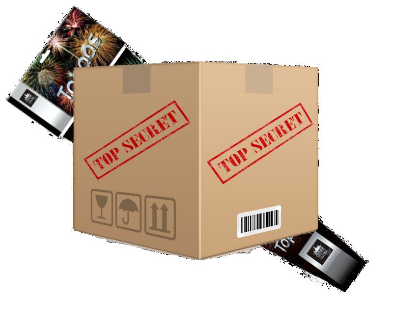 Top Secret Box + Pijlenpakket*
