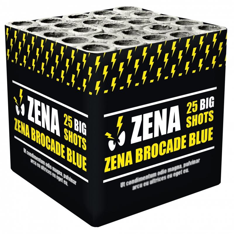 Zena brocade blue*