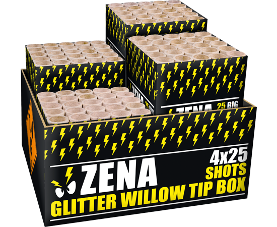 Zena glitter willow tip box*