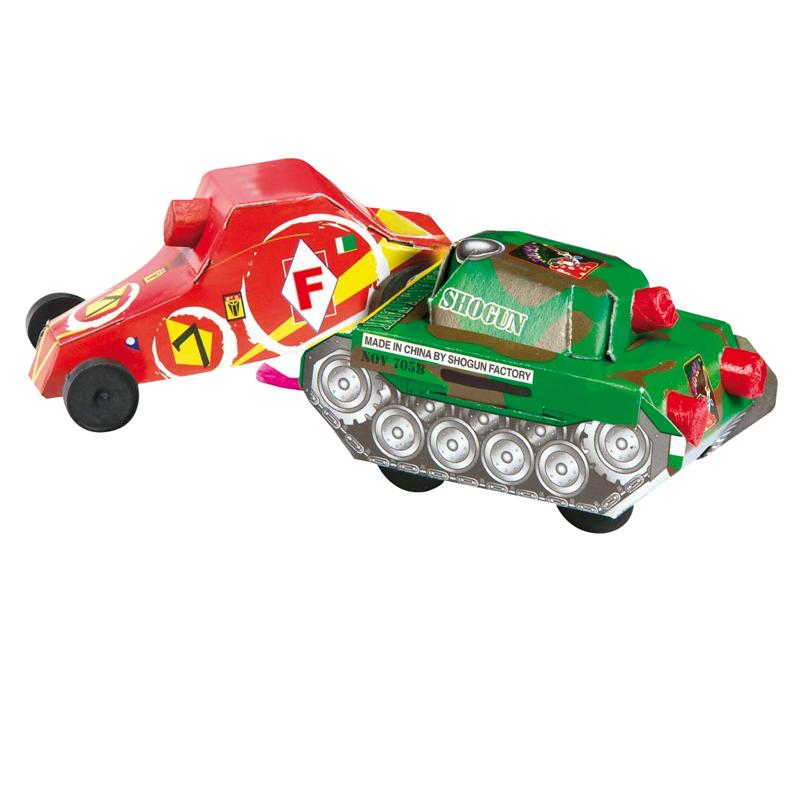 Quick & Slow Schildpad en Racewagen*