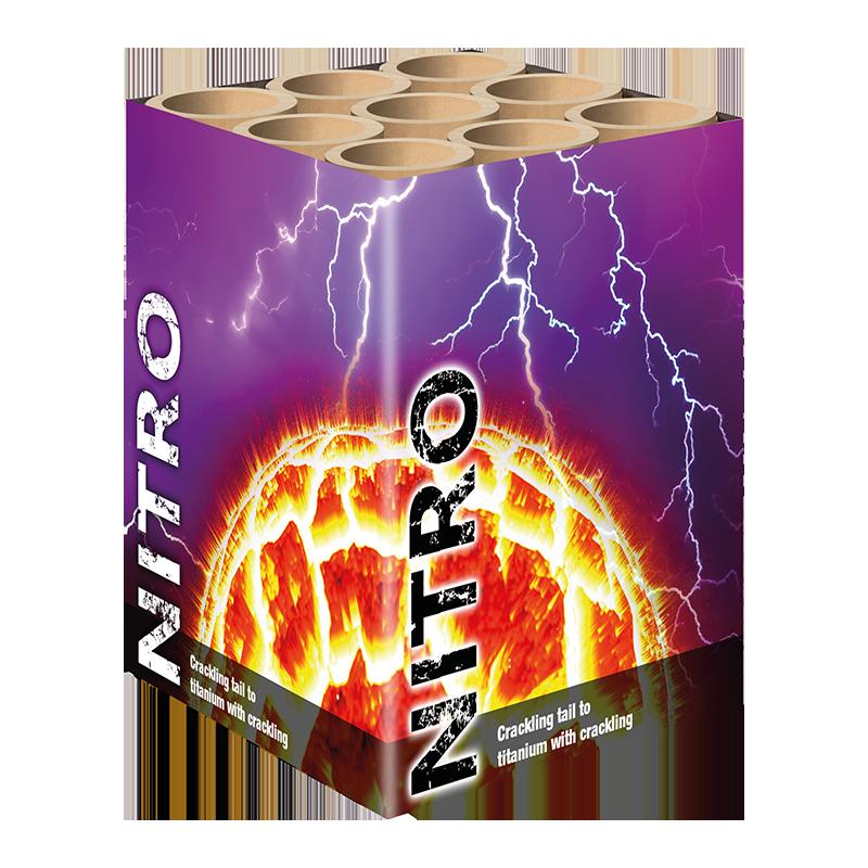 Nitro 9 schots knalcake