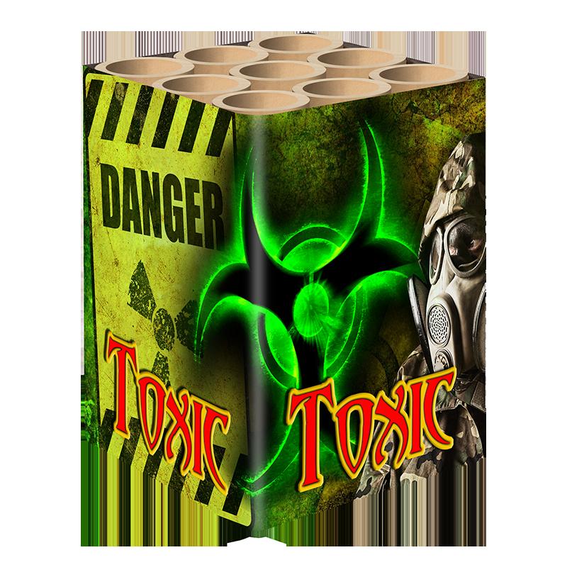 Toxic 9 schots cake