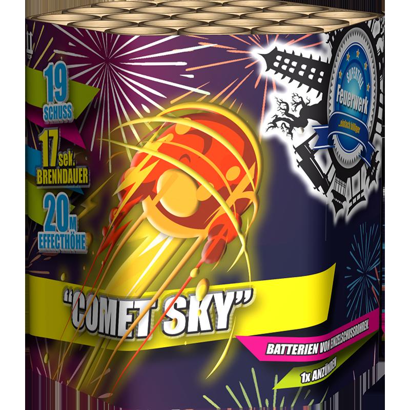 Comet Sky 19 shots