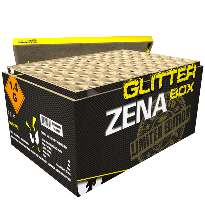 Zena glitter box*