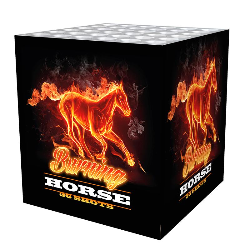 Burning Horse (Zena Impress)*