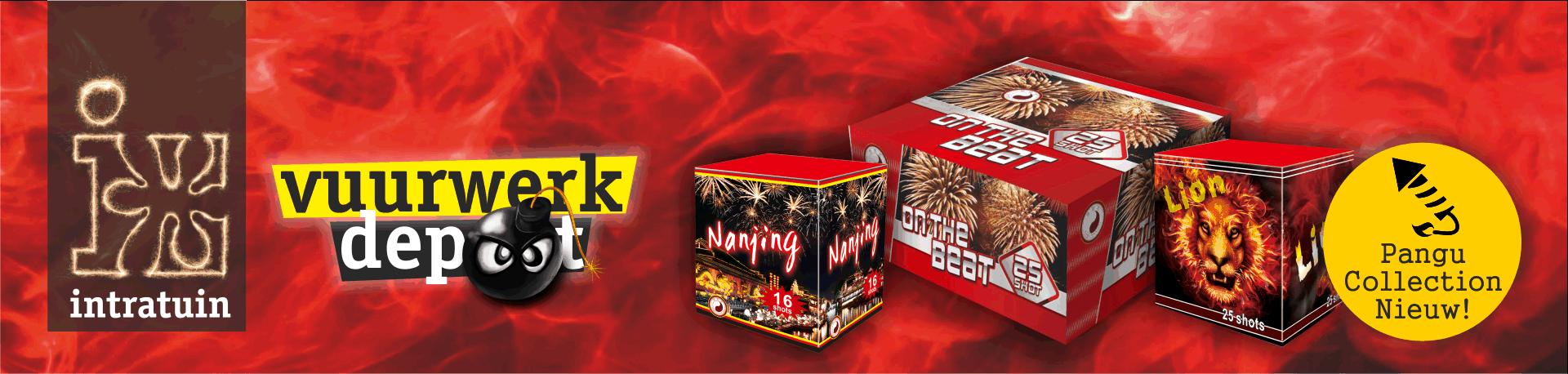 Vuurwerk kopen bestellen bij vuurwerkdepot intratuin for Intratuin cruquius