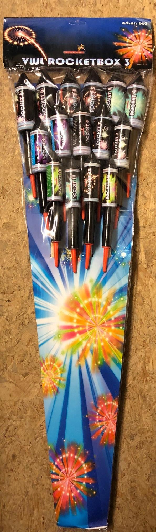 vuurwerkland 3 rockets