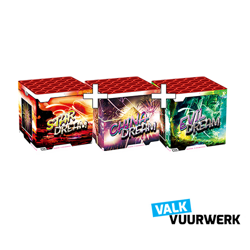 VALK DREAM 25 SCHOTS 1 + 1 + 1 ( NEW )