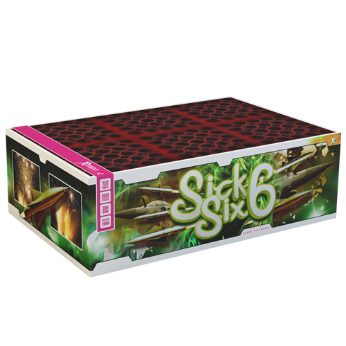SICK SIX CAKEBOX 150 SCHOTS