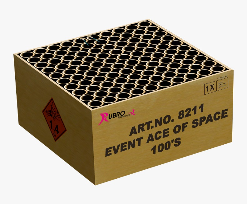 ACE OF SPACE 100 SCHOTS NIEUW