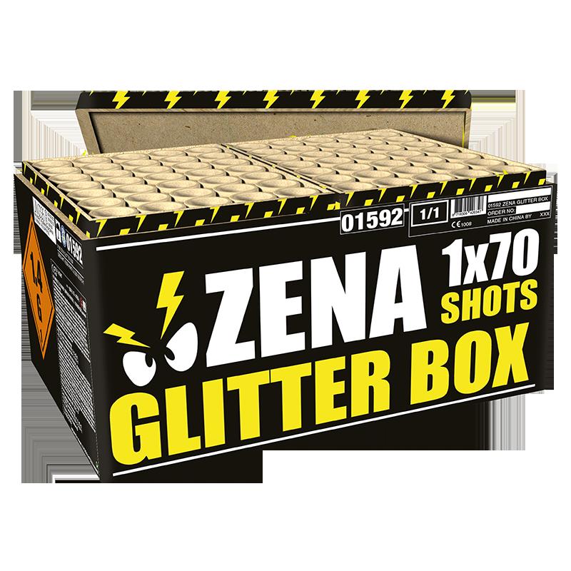 ZENA GLITTER BOX  NIEUW