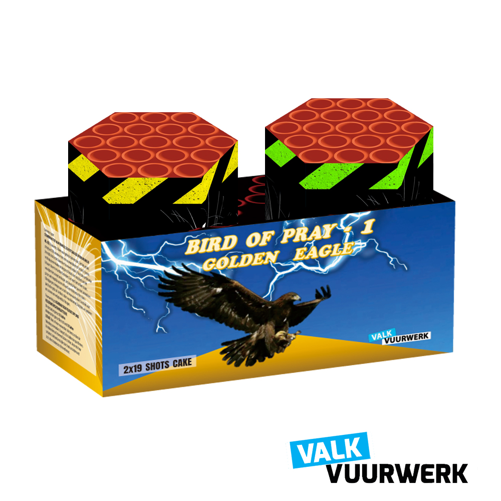 BIRD OF PREY ASS 2 X 19 SCH NIEUW