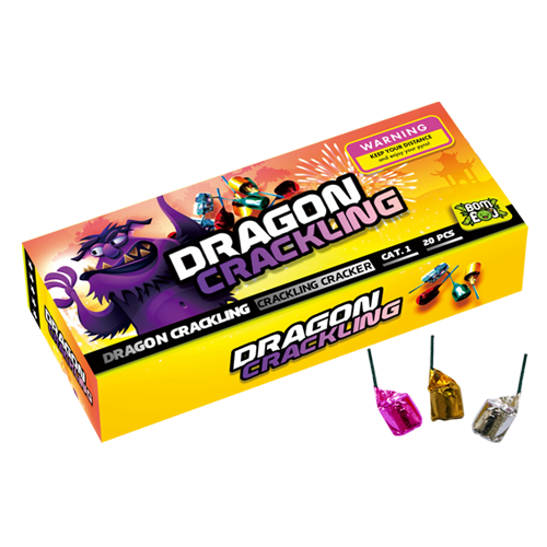 DRAGON CRACKLING 20 STUKS