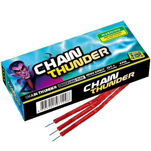 CHAIN THUNDER 8 STUKS ( KNETTERLINT )