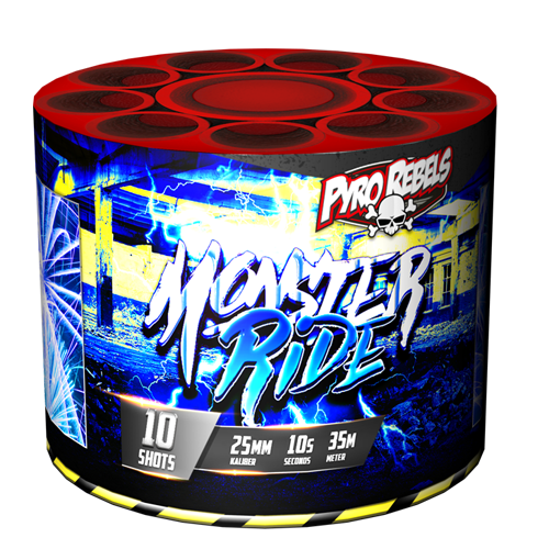 MONSTER RIDE  ( 1E PLAATS BESTE CAKE 2017 )