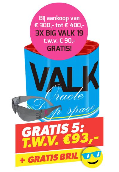 BIG VALK 19 3 STUKS + BRIL