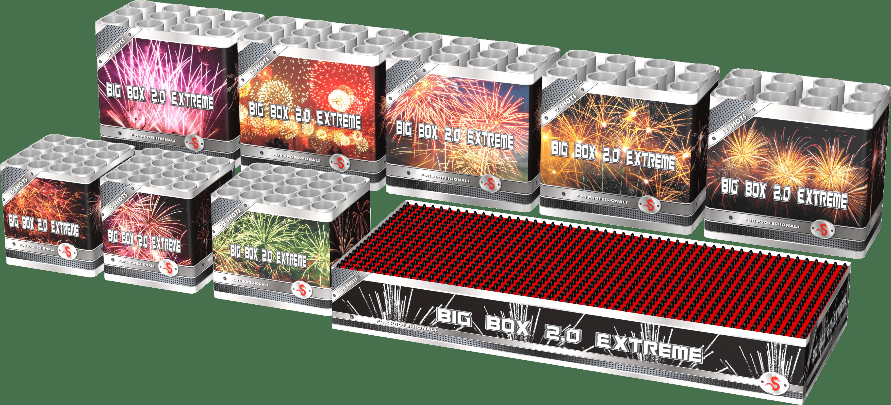 Big box 2.0 Extreme pakket