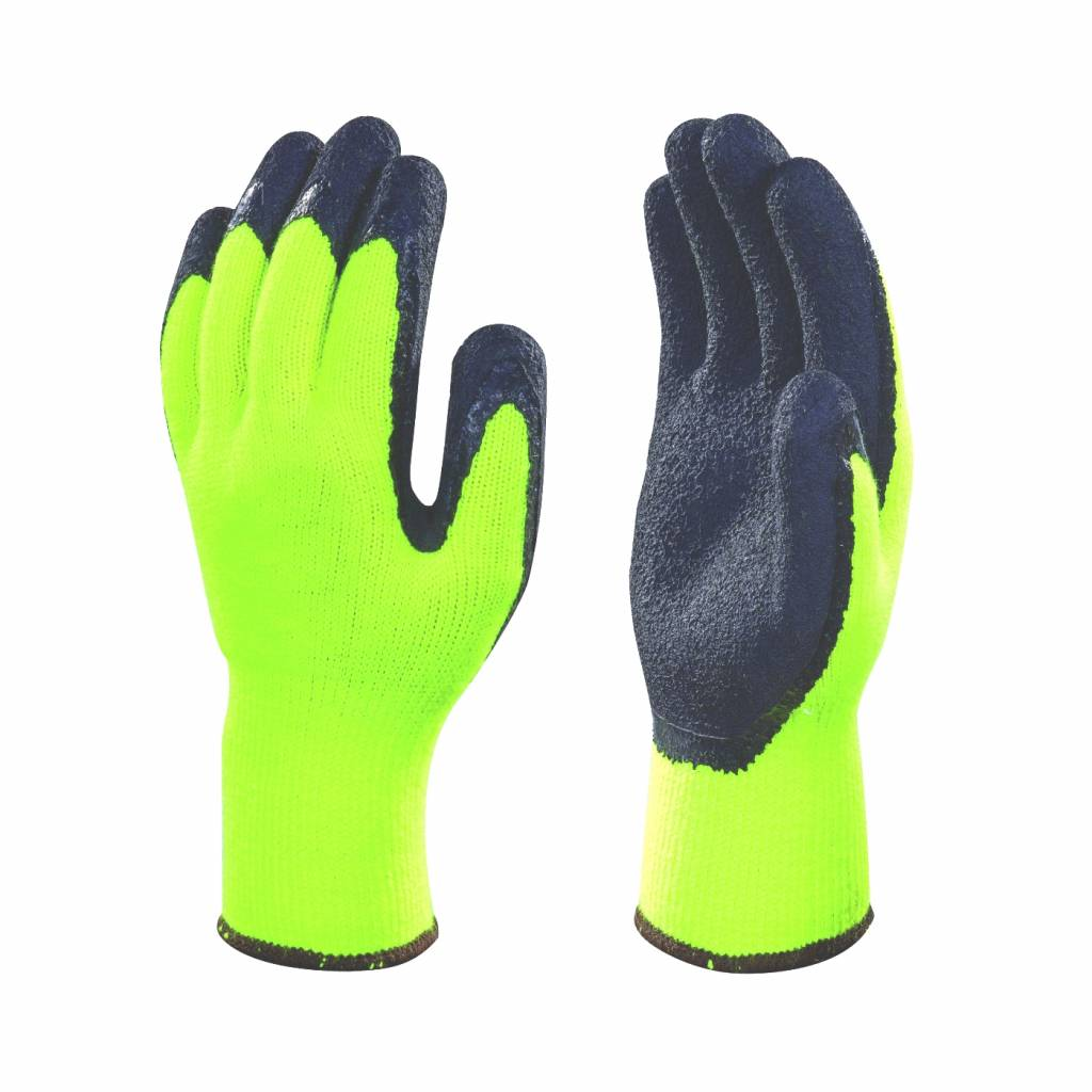 Werkhandschoenen winter Latex coated