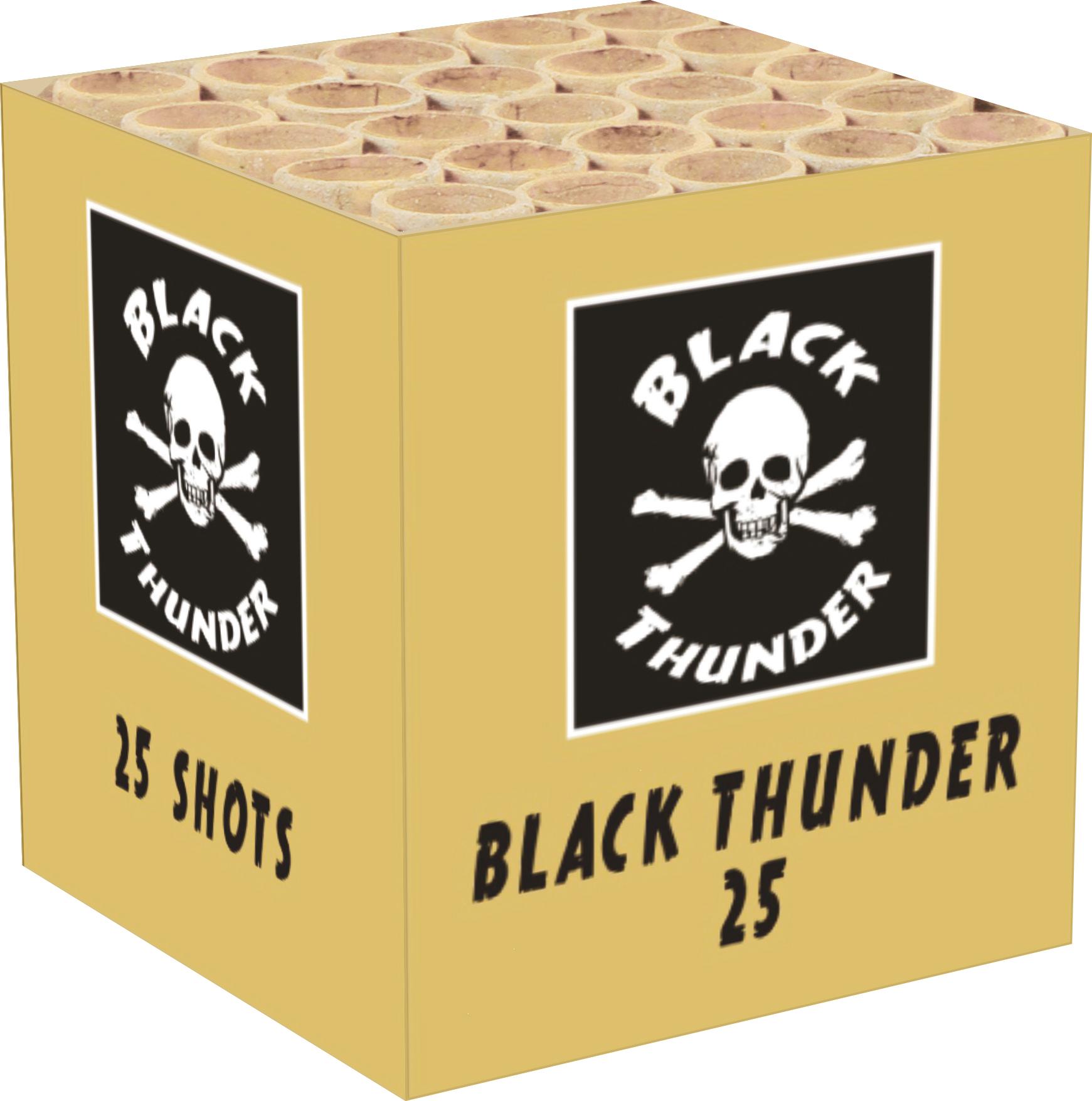 Black thunder 25 cake