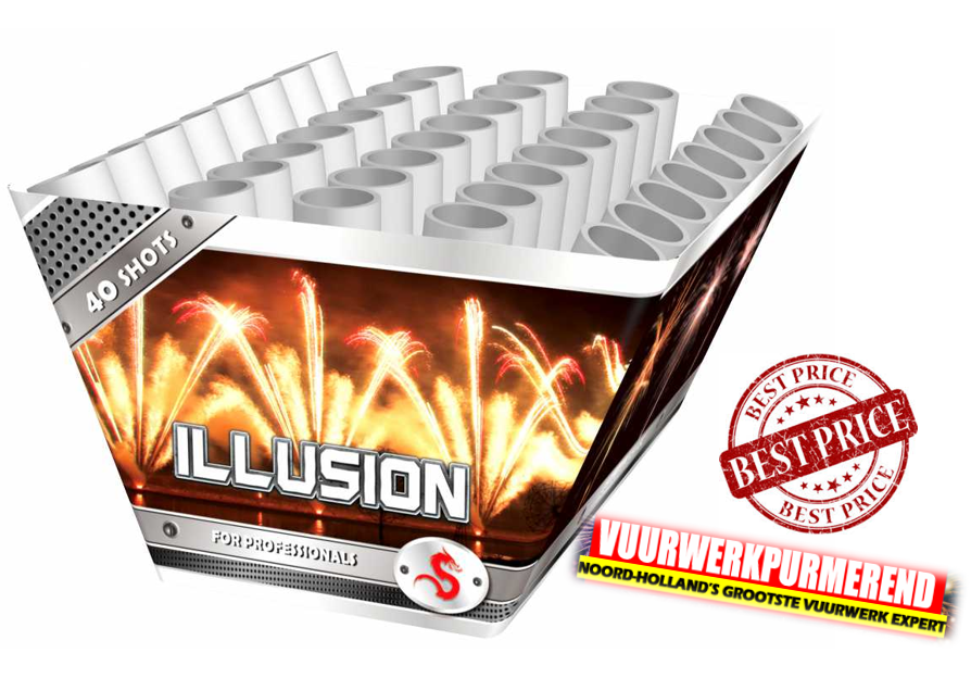 Illusion 500grams v- shape *