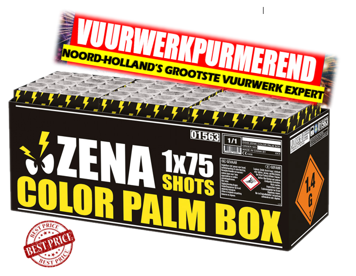 Zena color palm box compound