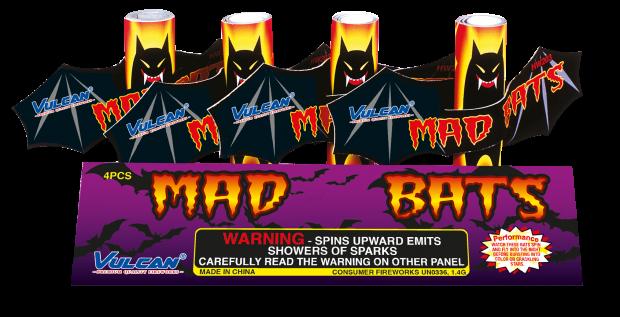 Mad Bats xl 4 stuks