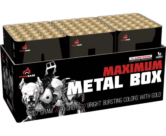 MAXIMUM METAL BOX