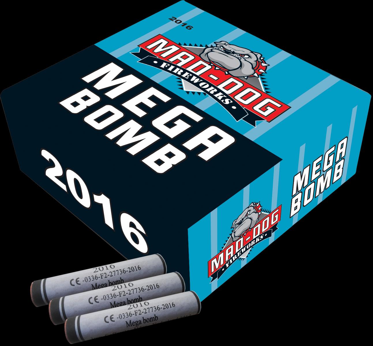 Mega Bomb Kanonslagen (100 st.)