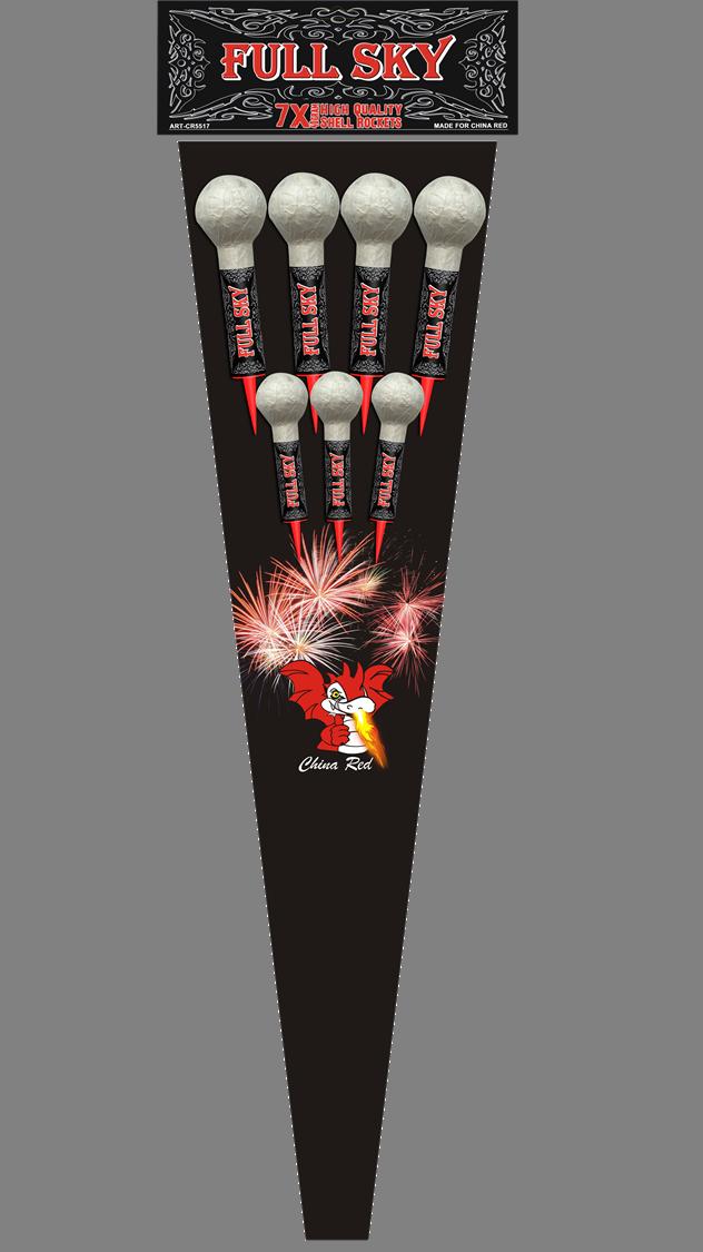 Full Sky Shell Rockets