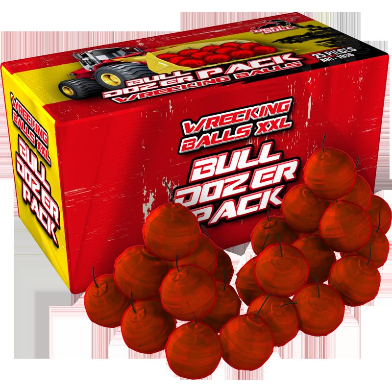 Wrecking Balls Bulldozer pack