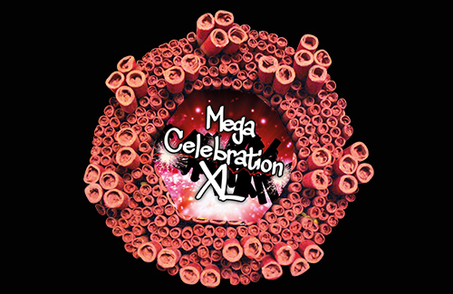 Mega Celebration XL Ratelband
