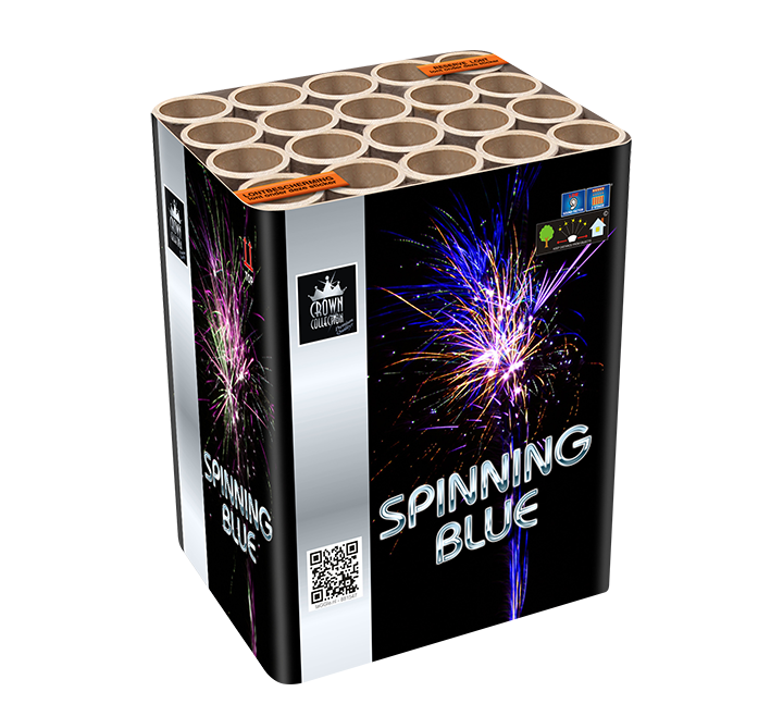 Spinning Blue