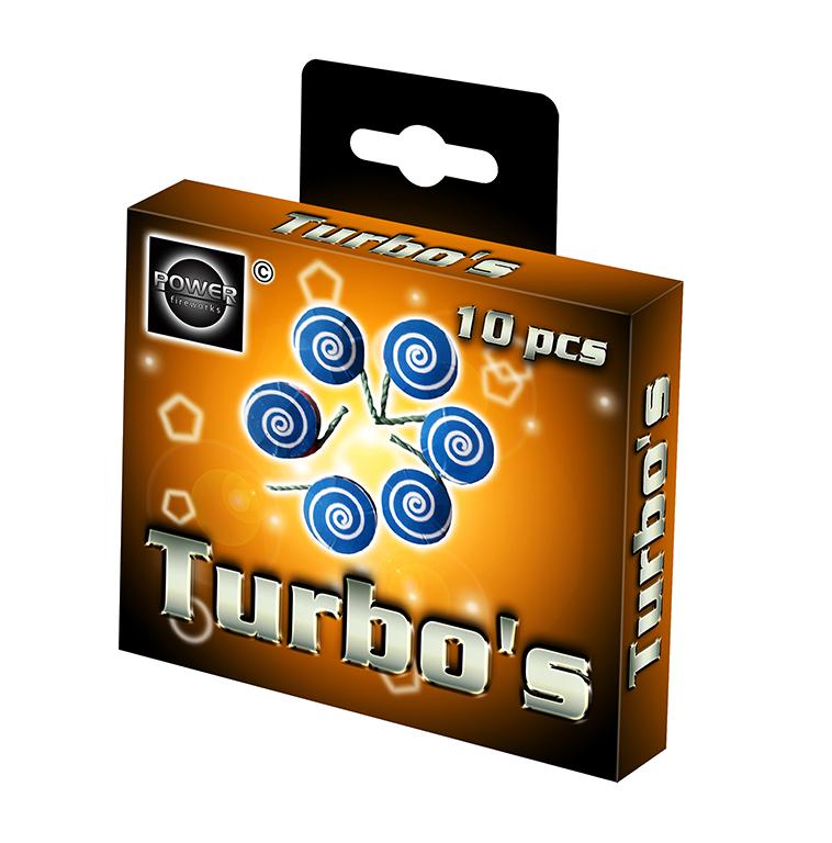 TURBO'S 10 stuks