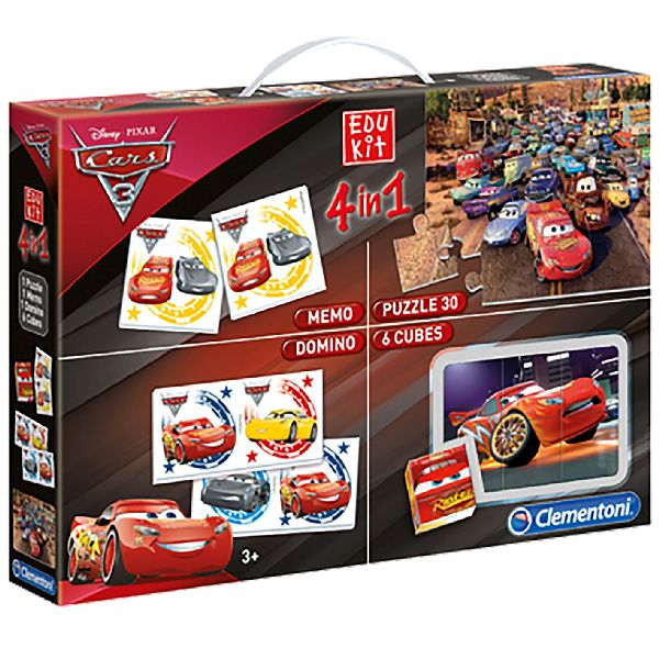 Cars 3 Superkit 4 In 1