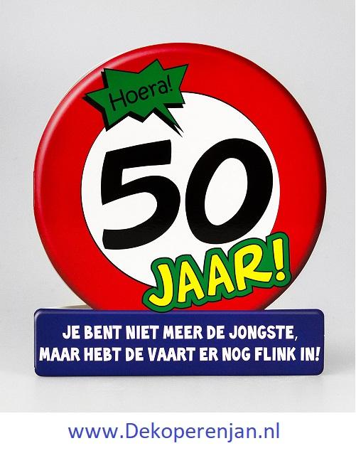 kaart 50 verkeersbord