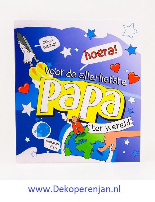 kaart tekst papa
