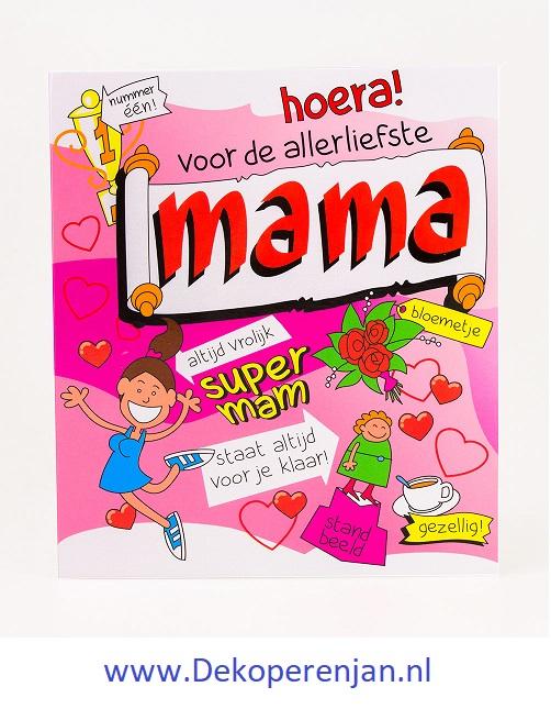 kaart tekst mama