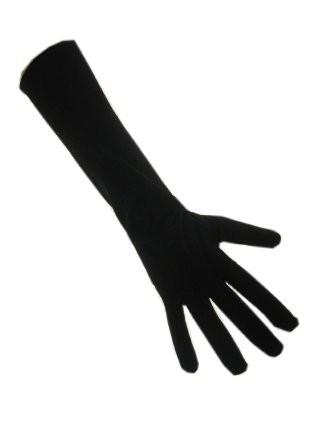 Zwarte piet handschoen XS