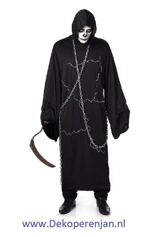 Ghoustly Ghoul met ketting maat XL