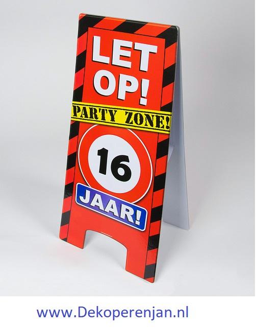 warning signs 16 Jaar