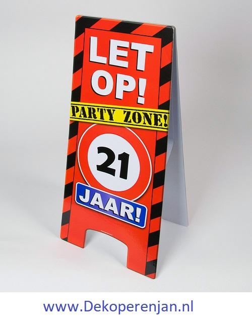 warning signs 21 Jaar