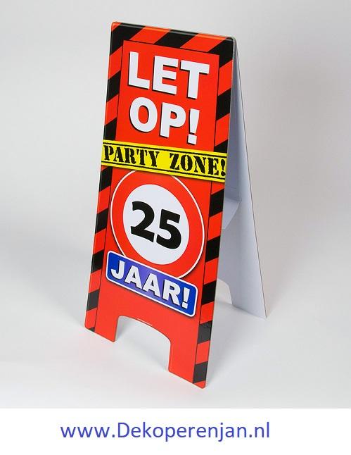 warning signs 25 Jaar