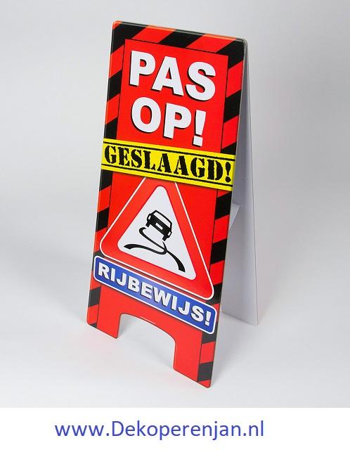 warning signs Geslaagd Rijbewijs
