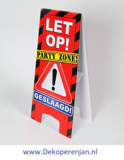 warning signs Geslaagd