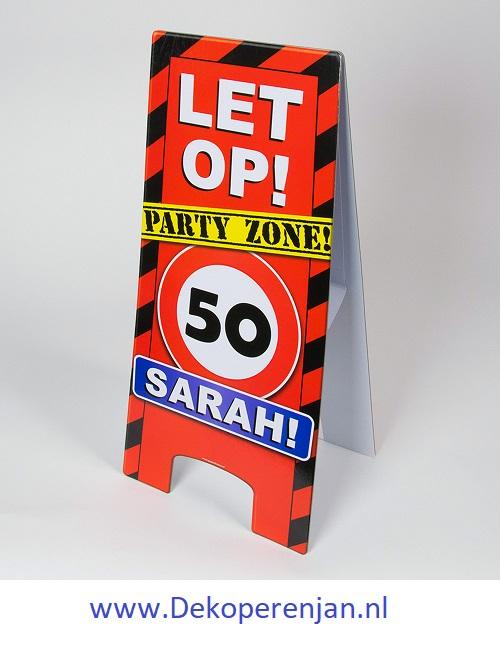 warning signs 50 Sarah